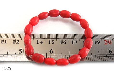 دستبند مرجان خوش رنگ زنانه - تصویر 4