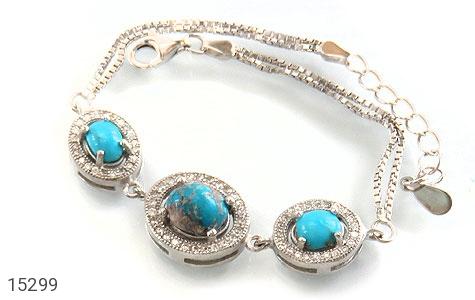دستبند فیروزه نیشابوری - عکس 1