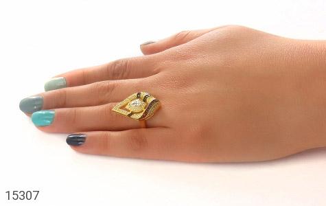 سرویس نقره دورنگ طرح جواهری زنانه - تصویر 6