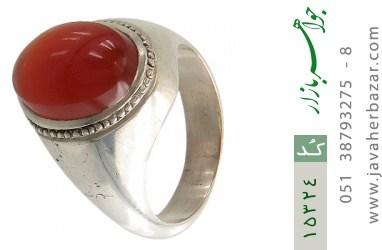 انگشتر عقیق یمن خوش رنگ درشت مردانه