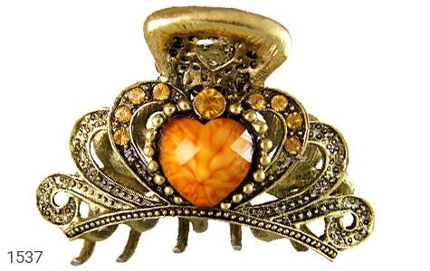 گل سر طرح قلب زنانه - عکس 1