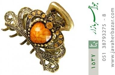 گل سر طرح قلب زنانه - کد 1537