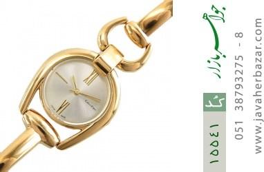 ساعت کلوین کلین calvin klein CK مجلسی طلائی زنانه - کد 15541