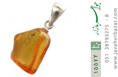مدال کهربا بولونی لهستان حشرهای عسلی رنگ - کد 15572
