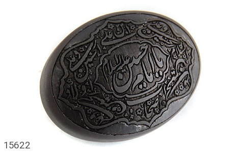 نگین تک حدید حکاکی یا امام حسین علیه السلام صلوات امام حسین - عکس 1