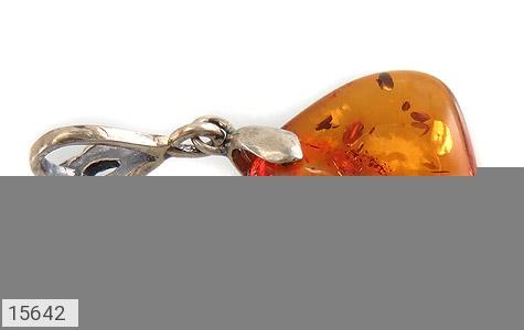 مدال کهربا بولونی لهستان عسلی خوش رنگ - عکس 3