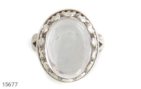 انگشتر دُر نجف درشت شفاف مردانه - تصویر 2