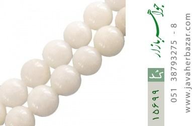 تسبیح جید سفید 101 دانه زیبا - کد 15699