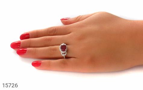 انگشتر یاقوت سرخ صفوی زنانه - عکس 7