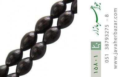 تسبیح آبنوس 101 دانه هلی ارزشمند و کمیاب - کد 15801