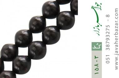 تسبیح آبنوس 101 دانه درشت کمیاب و ارزشمند - کد 15803