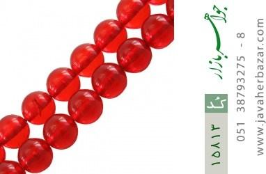 تسبیح کهربا پودری 33 دانه خوش رنگ - کد 15813