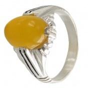 انگشتر عقیق زرد شرف الشمس طرح عرفان مردانه