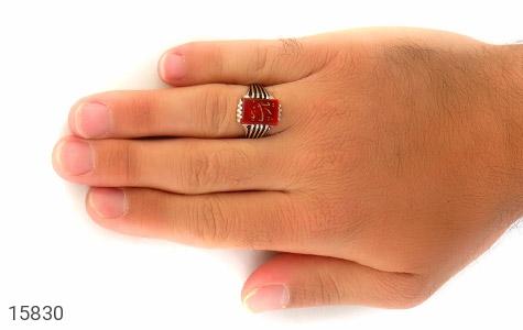 انگشتر عقیق حکاکی یا زینب - عکس 7