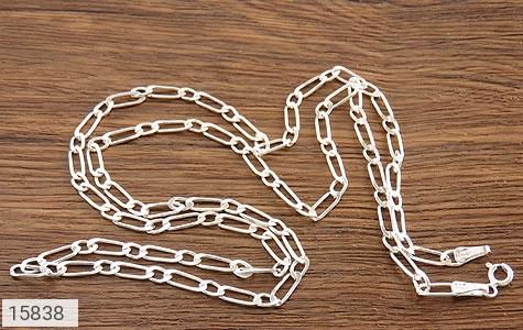 زنجیر نقره طرح اسپرت 60 ساتی - عکس 5
