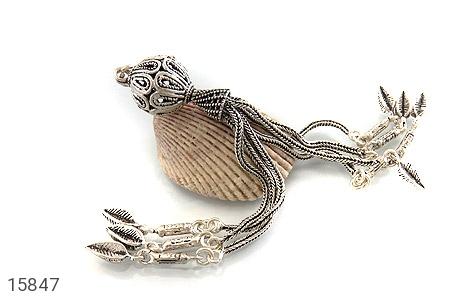 کرکوش نقره چندرشته ای درشت - عکس 3