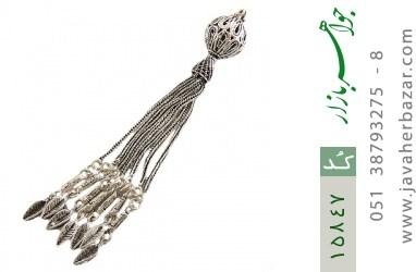 کرکوش نقره چندرشته ای درشت - کد 15847