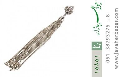 کرکوش نقره درشت چندرشته ای - کد 15851
