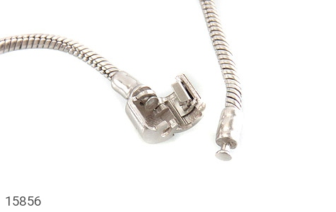 دستبند نقره طرح pandora مردانه - تصویر 4