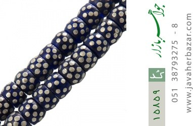 تسبیح نگین تزئینی دانه های دست ساز - کد 15859