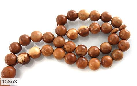 تسبیح کوک (کشکول) 33 دانه گرد - عکس 3