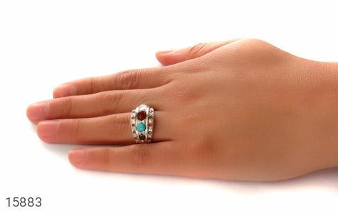 انگشتر چندنگین ارزشمند و زیبا - عکس 9