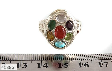 انگشتر چندنگین 7سنگ معدنی و ارزشمند - عکس 7