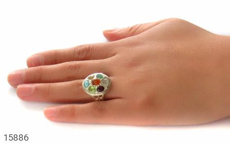 انگشتر چندنگین 7سنگ معدنی و ارزشمند - تصویر 8