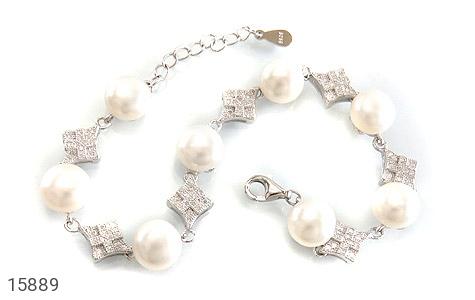 دستبند مروارید مجلل و جذاب زنانه - عکس 1