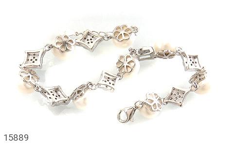دستبند مروارید مجلل و جذاب زنانه - تصویر 2