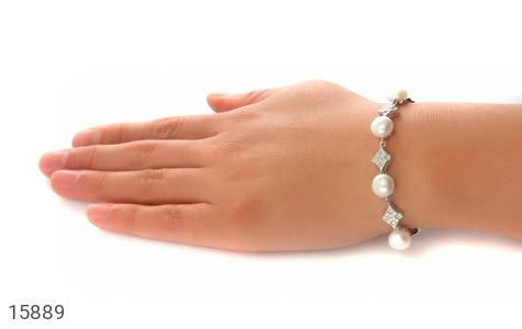 دستبند مروارید مجلل و جذاب زنانه - عکس 5