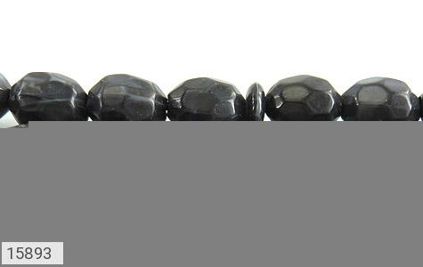 تسبیح تزئینی 33 دانه تیره تراش - عکس 5