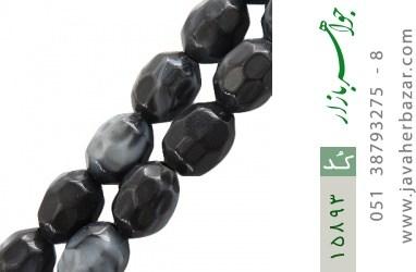 تسبیح تزئینی 33 دانه تیره تراش - کد 15893