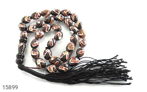 تسبیح کوک (کشکول) 33 دانه مرصع خوش رنگ - تصویر 2
