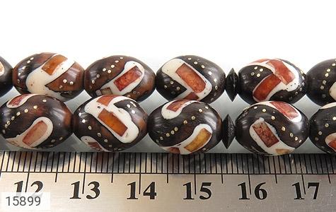 تسبیح کوک (کشکول) 33 دانه مرصع خوش رنگ - عکس 5
