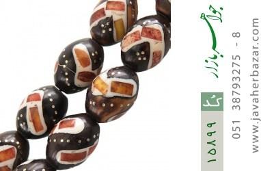 تسبیح کوک (کشکول) 33 دانه مرصع خوش رنگ - کد 15899