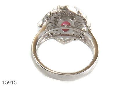 انگشتر یاقوت سرخ طرح شهناز زنانه - تصویر 4
