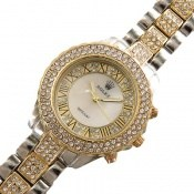 ساعت رولکس Rolex پرنگین دور طلائی زنانه