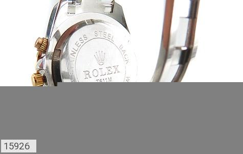 ساعت رولکس Rolex پرنگین دور طلائی زنانه - تصویر 4
