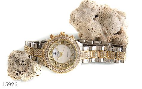 ساعت رولکس Rolex پرنگین دور طلائی زنانه - عکس 5