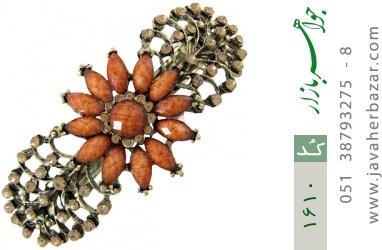 گل سر طرح خورشید زنانه - کد 1610