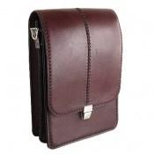 کیف چرم طبیعی دست دوز مدل دوشی
