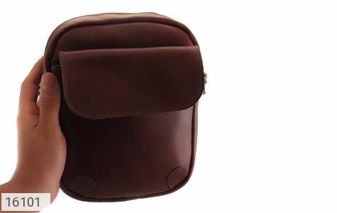 کیف چرم طبیعی مدل دوشی - تصویر 10