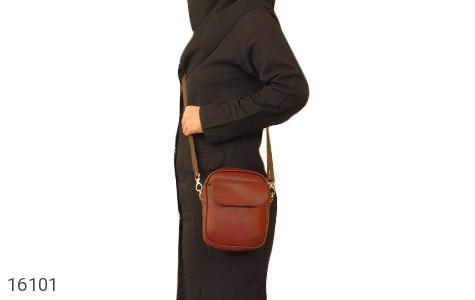 کیف چرم طبیعی مدل دوشی - عکس 11