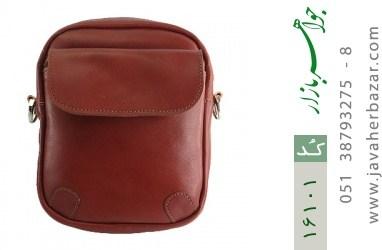کیف چرم طبیعی مدل دوشی - کد 16101