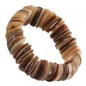 دستبند صدف ارزشمند و خوش نقش زنانه