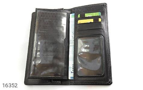 ست چرم طبیعی مشکی سه تکه مردانه - تصویر 2