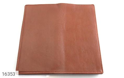 ست چرم طبیعی قهوه ای سه تکه مردانه - تصویر 4