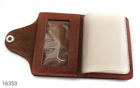 ست چرم طبیعی قهوه ای سه تکه مردانه - تصویر 6