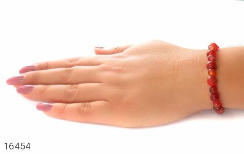 دستبند عقیق زیبا و خوش رنگ زنانه - تصویر 6